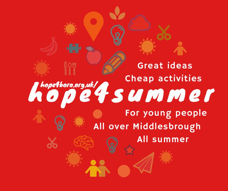 hope 4 summer 2016
